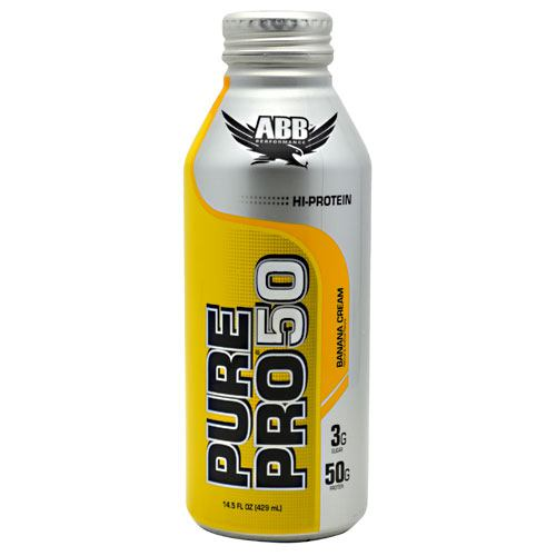 ABB Pure Pro 50 - Banana Cream - 12 Cans - 00045529856646