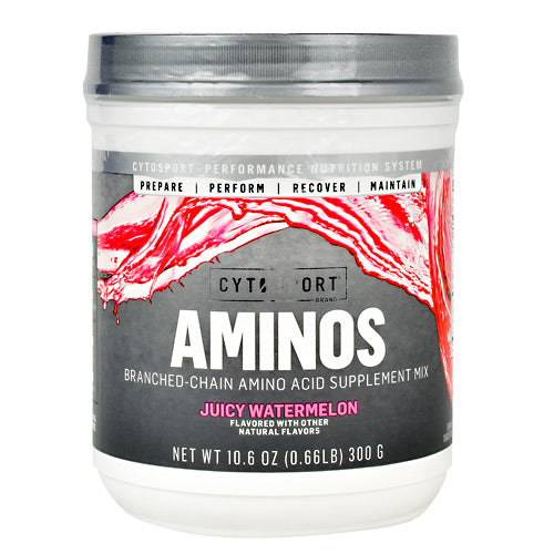 Cytosport Aminos - Juicy Watermelon - 10.6 oz - 660726803301