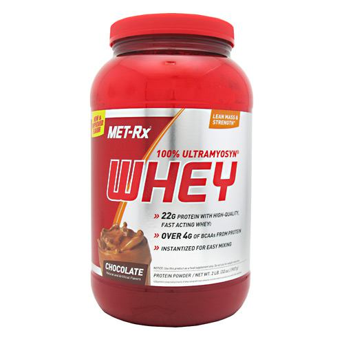 Met-Rx USA 100% Ultramyosyn Whey - Chocolate - 2 lb - 786560546188