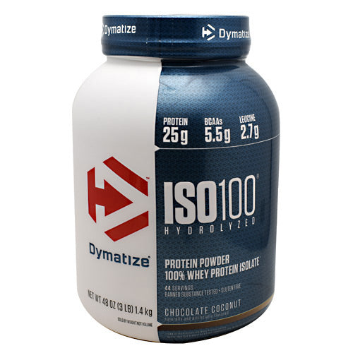 Dymatize ISO100 - Chocolate Coconut - 3 lb - 705016355334