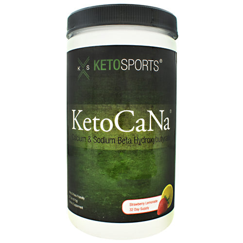 KetoSports KetoCaNa - Strawberry Lemonade - 32 Servings - 733428008128