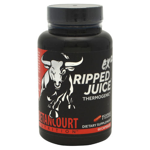 Betancourt Nutrition Ripped Juice EX2 - 60 Capsules - 857487005048