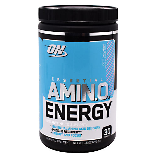 Optimum Nutrition Essential Amino Energy - Cotton Candy - 30 Servings - 748927055511