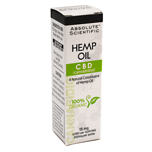 Absolute Scientific CBD - 300 mg - 708235089561