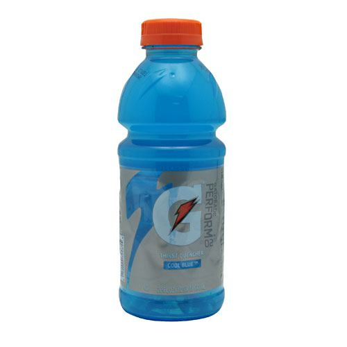 Gatorade Thirst Quencher - Cool Blue - 24 Bottles - 10052000324812