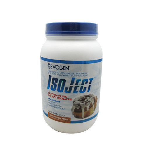 Evogen IsoJect - Cinnamon Roll - 1.85 lb - 680474118045