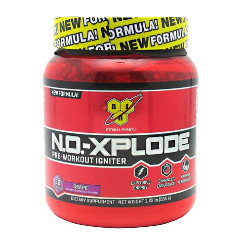 BSN N.O.-Xplode - Grape - 30 Servings - 834266001606
