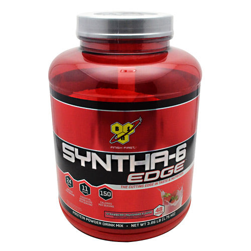 BSN Edge Syntha-6 - Strawberry Milkshake - 48 Servings - 834266005710