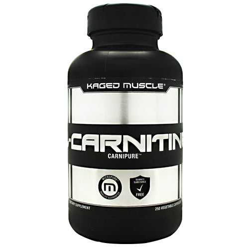 Kaged Muscle Carnipure L-Carnitine - 250 Capsules - 013189942092