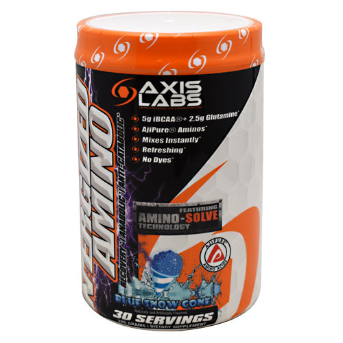 Axis Labs Marquis Series NErgized Amino - Blue Snow Cone - 30 Servings - 735548390565