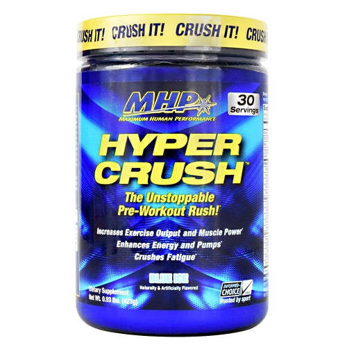 MHP Hyper Crush - Blue Ice - 30 Servings - 666222009001