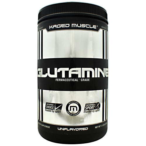 Kaged Muscle Glutamine - Unflavored - 100 Servings - 094393450580