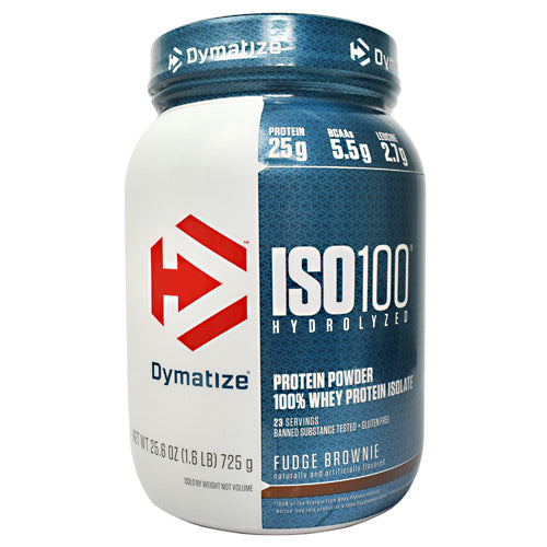 Dymatize ISO100 - Fudge Brownie - 1.6 lb - 705016355037