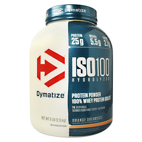 Dymatize ISO100 - Orange Dreamsicle - 5 lb - 705016500444