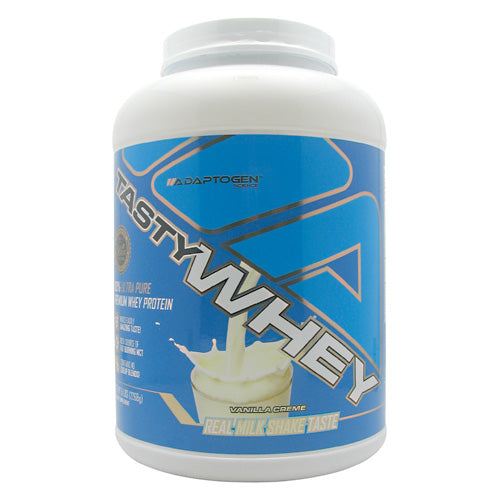 Adaptogen Science Tasty Whey - Vanilla Creme - 5 lb - 612524152174