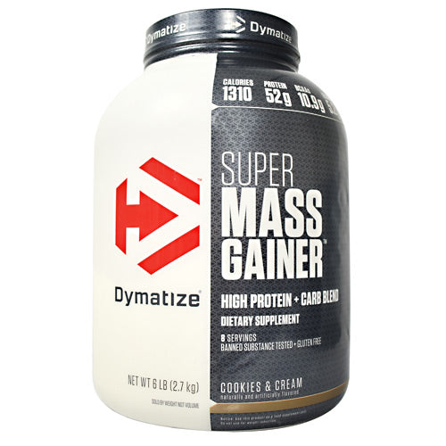 Dymatize Super Mass Gainer - Cookies & Cream - 6 lb - 705016331284