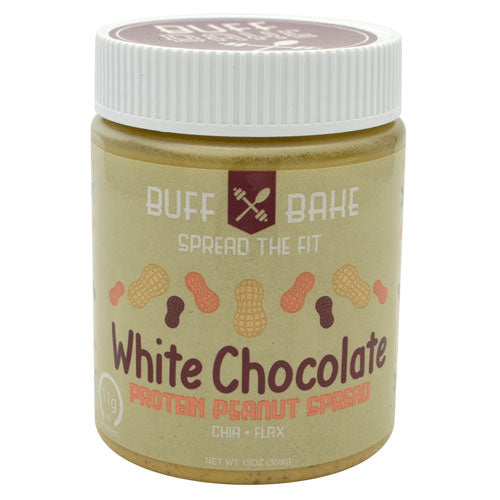 Buff Bake Protein Peanut Butter Spread - White Chocolate - 13 oz - 857697005357