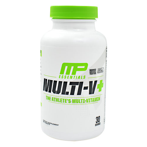 MusclePharm Essentials Multi-V+ - 60 Tablets - 851387008062