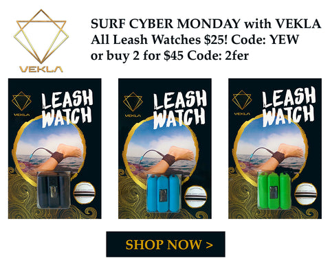 VEKLA Surf Leash Watch