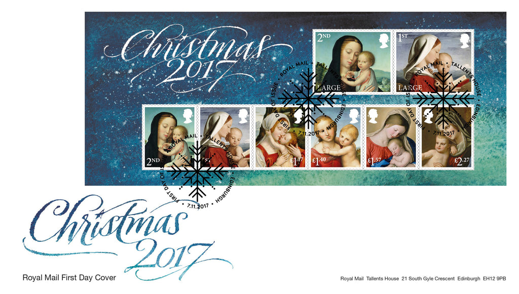 Christmas 2017 Miniature Sheet First Day Cover (3774503)