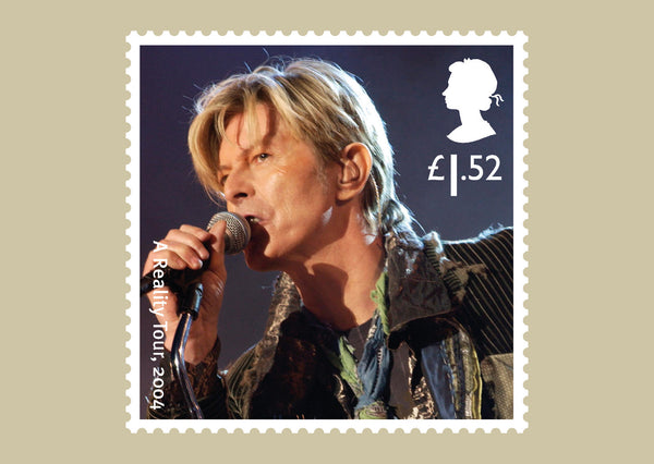 (k) Musical Giants II: David Bowie Stamp Card Set of 11 (3773248)