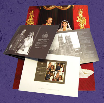 Royal Wedding Commemorative Document Set                            3756009