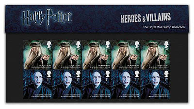 Harry Potter Heroes and Villain Presentation Packs                  3758826