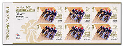 Gold Medal Cycling Team Sprint - Hoy, Hindes and Kenny Minisheet    3761762