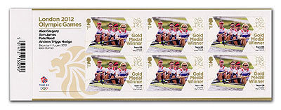 Gold Medal Gregory, James, Reed, Hodge  Men's Fours Rowing Minishee 3761800