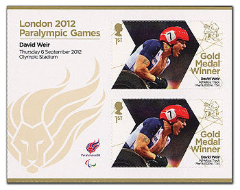 PGM Athletics Men's 800m T54 David Weir Minisheet                   3763048