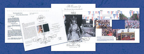 Her Majesty the Queen - Royal Portrait Commemorative Document       3765466