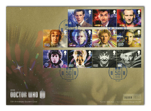 Doctor Who Special Event Souvenir Cover                             4805348