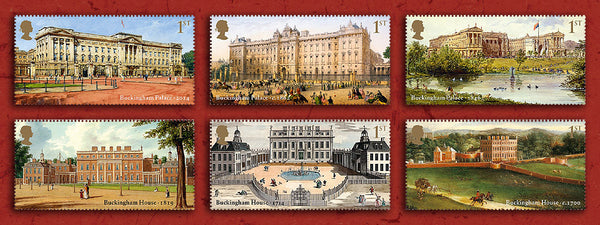 Buckingham Palace Set of 6                                          4805356