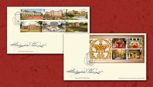 Buckingham Palace London First Day Cover Set of 2                   4805372