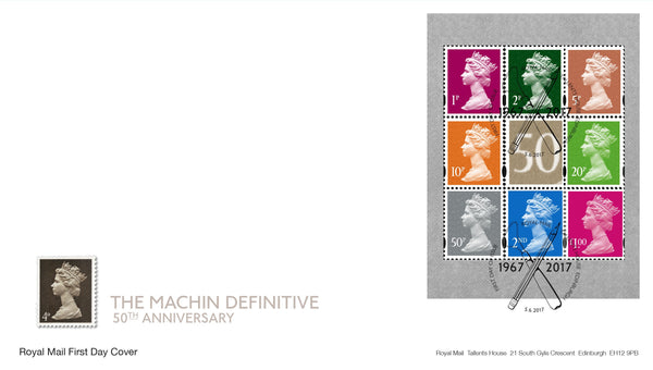 Machin Definitive Anniversary Prestige Stamp Book First Day Cover (3773698)