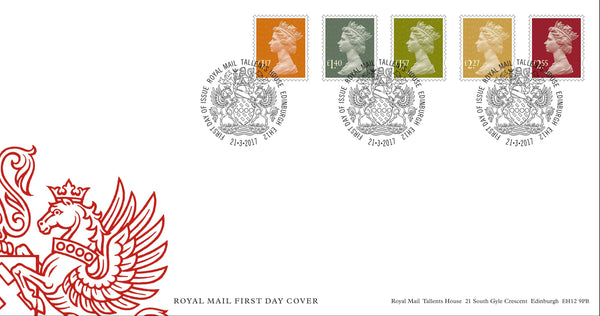 2017 Machin Tariff First Day Cover (3773310)