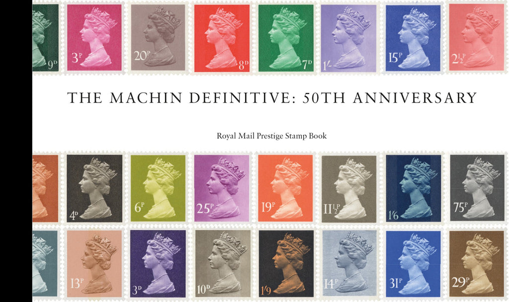 Machin Definitive Anniversary Prestige Stamp Book (3773620)
