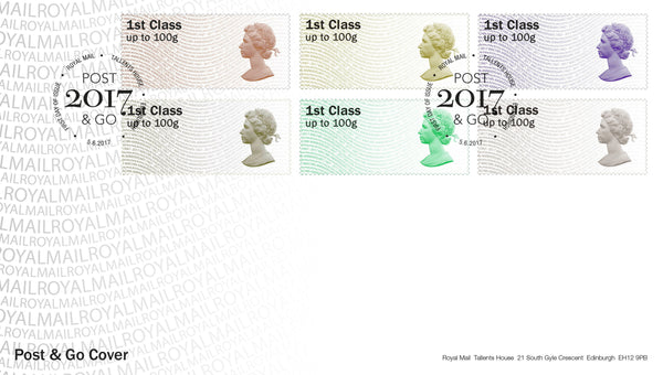 Machin Anniversary 1967-2017 Post & Go First Day Cover (3773604)