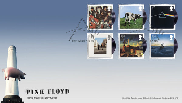 Pink Floyd First Day Cover  [3771849]