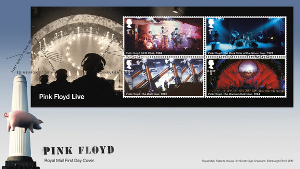 Pink Floyd Live First Day Cover  [3771857]
