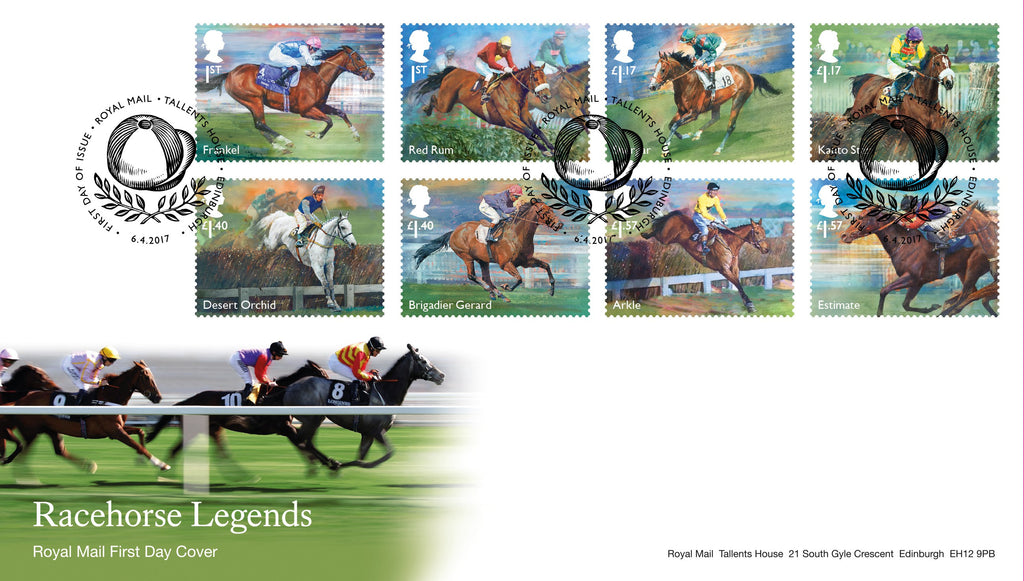 Racehorse Legends First Day Cover (3773450)