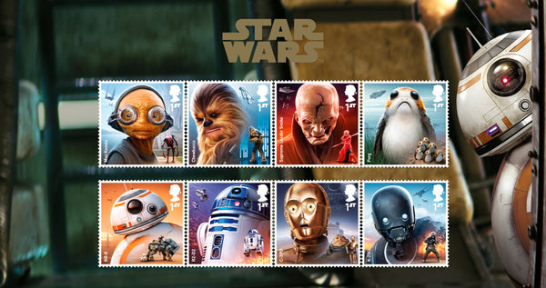 STAR WARS™ 2017 Characters Official Stamp Set
