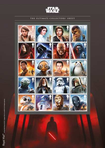 STAR WARS™ 2017 Ultimate Official Collectors' Sheet