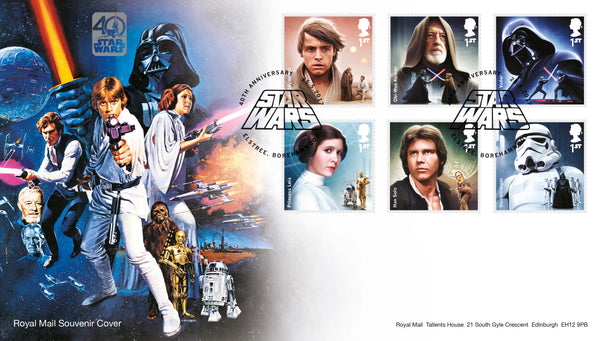 STAR WARS™ 2017 40th Anniversary Official Souvenir Cover