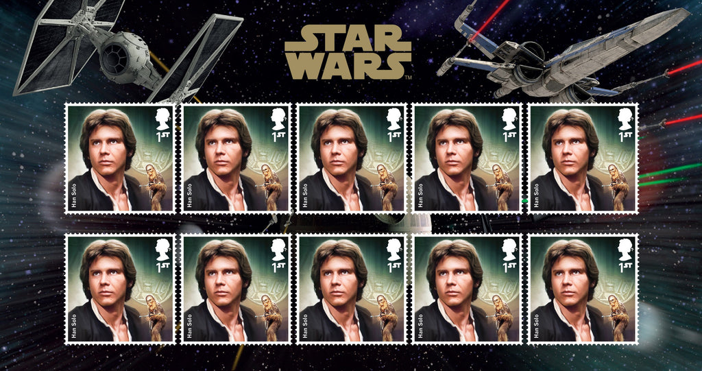 STAR WARS™ 2015 Han Solo Stamp Set 3770834