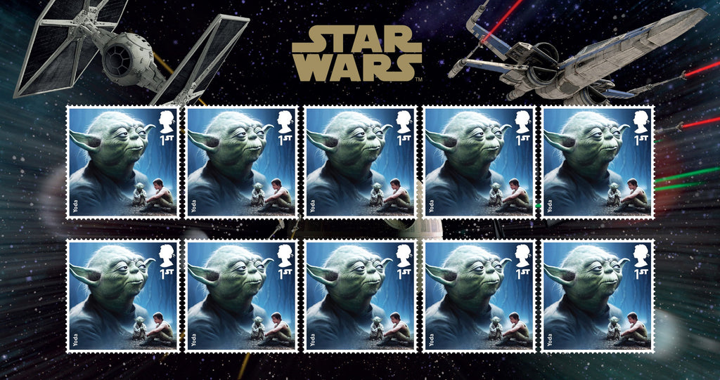 STAR WARS™ 2015 Yoda Stamp Set 3770818