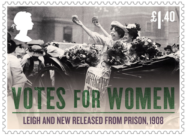 Votes for Women Mint Stamp Set of 8