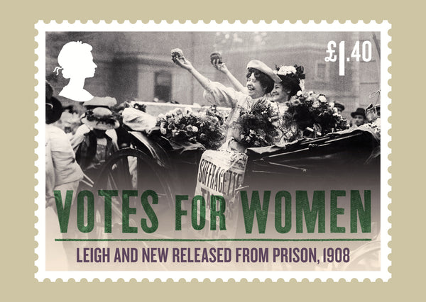 Votes for Women Stamp Card Set of 8