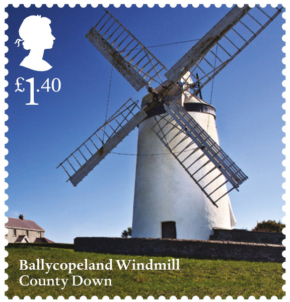 Windmills and Watermills Mint Stamp Set of 6 (3773639)
