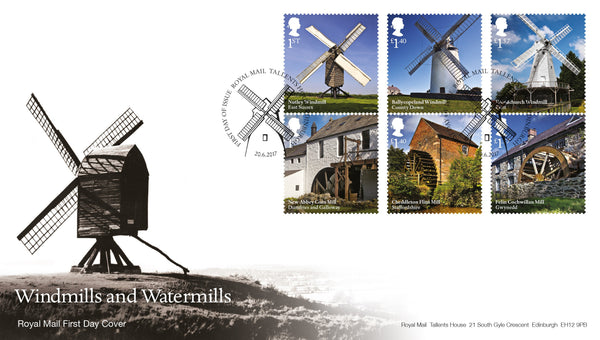 Windmills and Watermills First Day Cover (3773663)